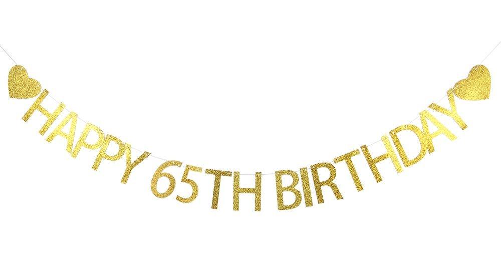 65th Birthday Fabulous Banners Cafepress