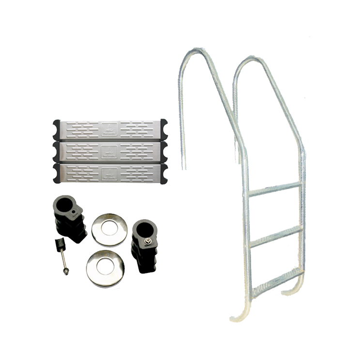 Durable stainless steel pool step ladder for swimming pool ladder