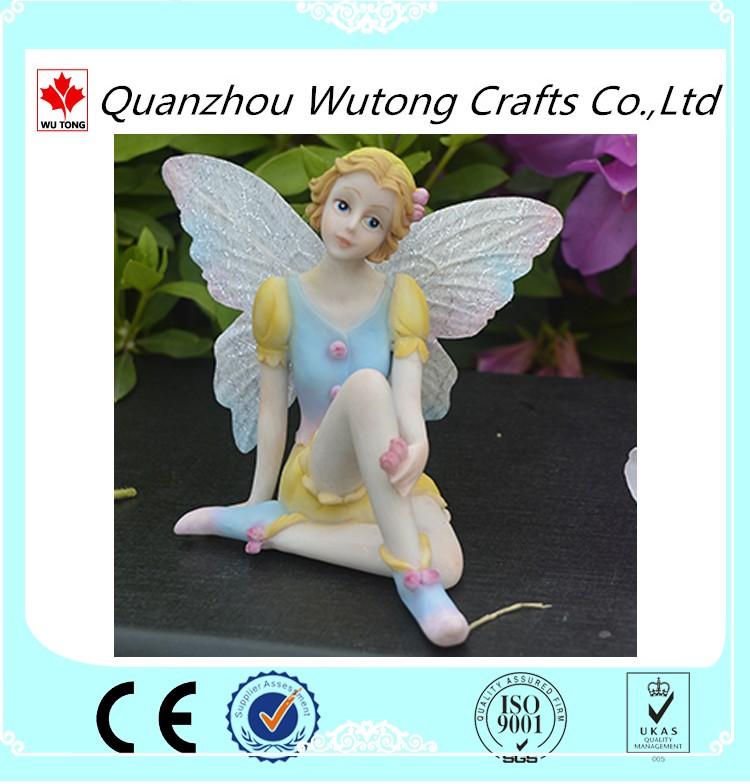 disesuaikan murah resin fairy patungpatung grosir untuk