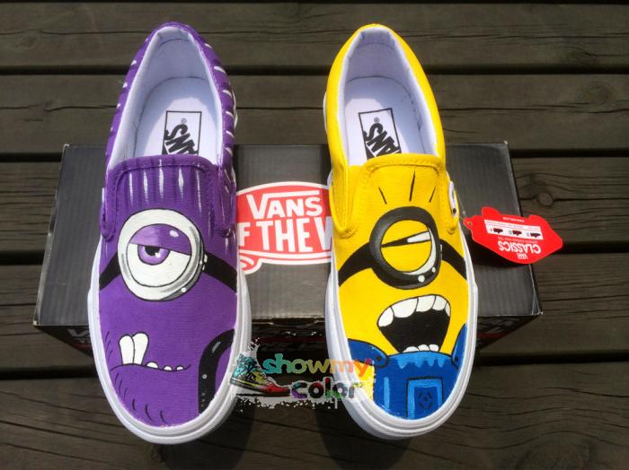 69c8c3d95cb92 zapatos minions vans