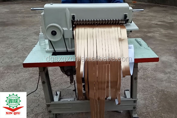 16inch UV slitting machine Belt Making Machine Leather Strip Cutting Machine