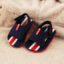 New arrival 2015 baby sandals british girls boys shoes baby shoes 1 3 years dark blue