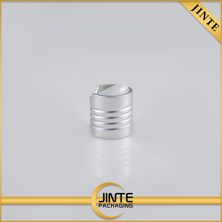 Best Selling Low Price Recyclable 20140 24410 28410 shiny /matte silver flip off aluminum plastic cap