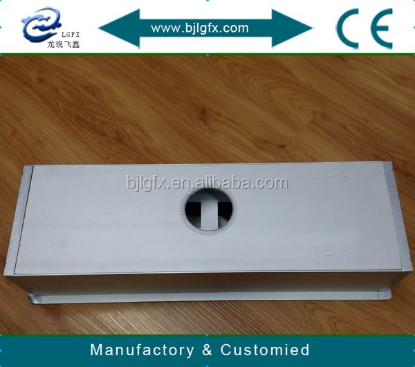 Conference table socket cable cubby Electric multimedia connection socket box