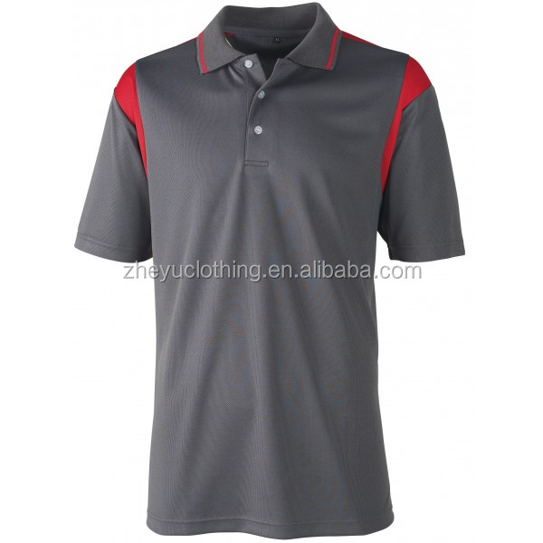 Popular custom dry fit polo t shirts plain blank promotional polo with pocket
