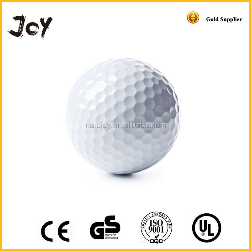 Hot sale oem practice recyclable white elastic logo printed biodegradable golf balls