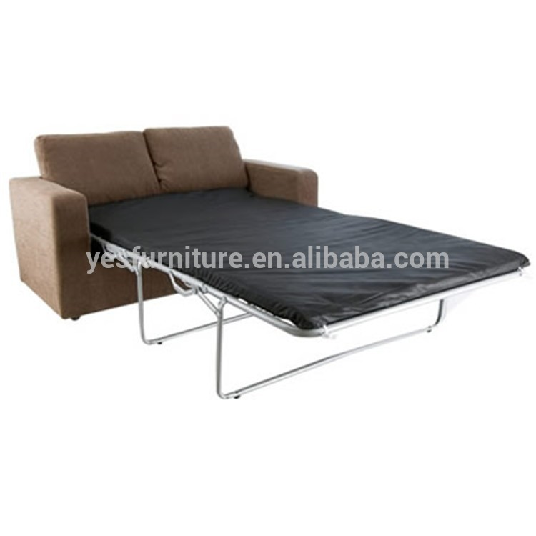 Sofa bed frame dhp the tokyo metal frame daybed and for Divan double bed frame