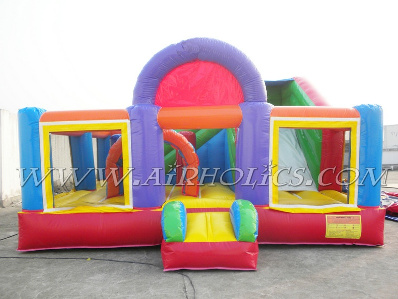 inflatable combo games,house jumping games,slide bouncy combo