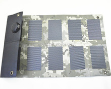 Foldable and Portable Solar Charger for Smartphone and Pad