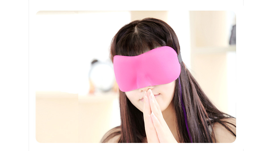 2017 wholesale new design funny sleep eye mask for men and women