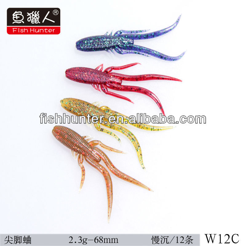 China <strong>fishing</strong> lures 68mm 2.3g/fish hunter/wholesale lure