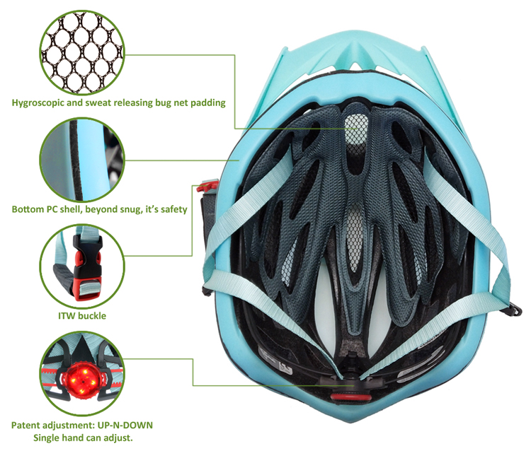 Amazon Best Selling Lightweighted Bicycle Helmet 9