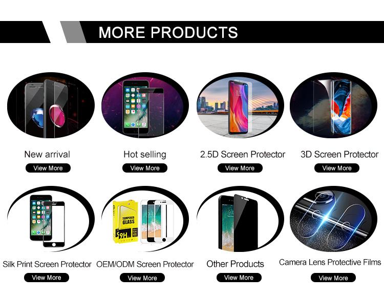 Bán buôn Bảo Vệ Màn Hình Điện Thoại Tempered Glass đối với Iphone XS MAX