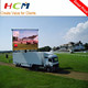 HD Mobile LED Outdoor Display Screen Advertising Trailer