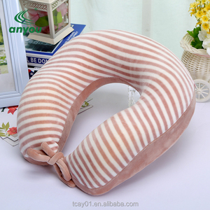 Customized Square Soft Digital PrintingTravel Neck Pillow