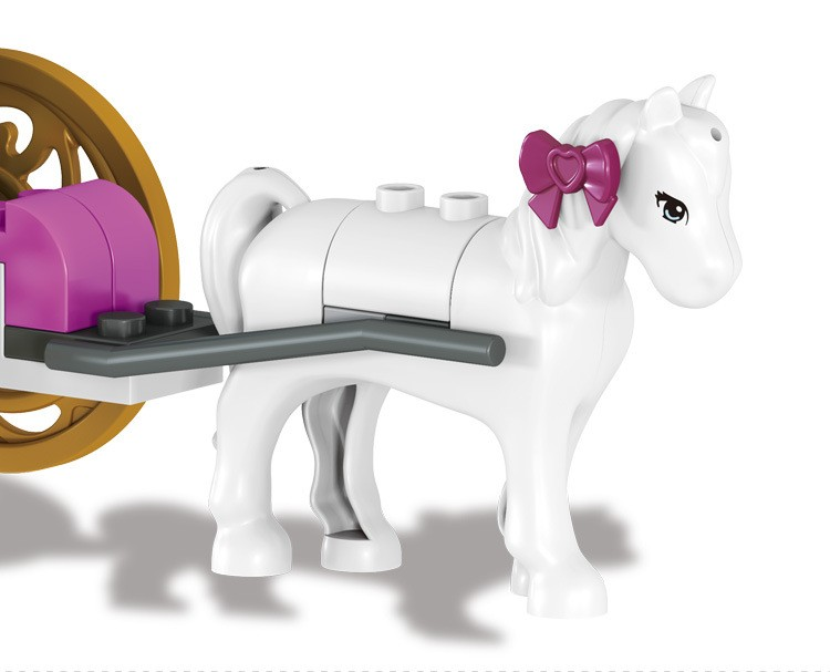 UKLego Duplo Princess Cinderella's Pumpkin Carriage Toy.