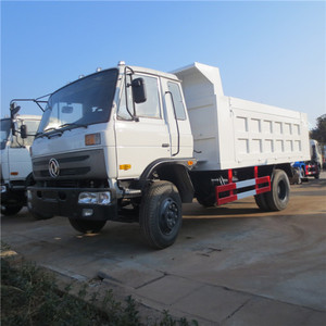DONGFENG 6 wheel 170hp 10 tons small dump truck for sale