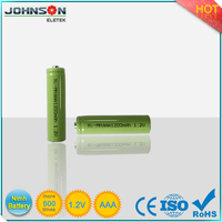 Low self discharge AAA NiMH 1.2v 850 mAh cameras rechargeable battery