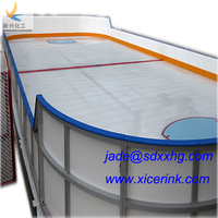 Hockey Shooting Pads smoothness plastic ice rink/ ice hockey shoot pads/ uhmw pads for skating
