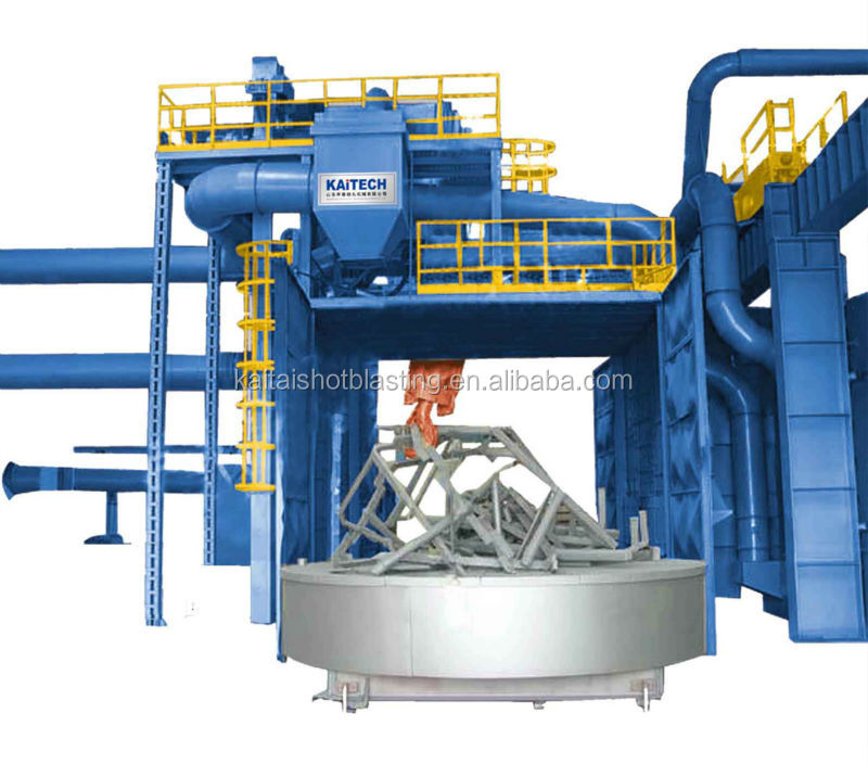 Q36/Q76 trolley type sand blasting machine-the art of powerful cleaning for workpieces