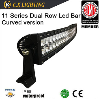 Super Slim Curved Battery Ed Led Off Road Light Bar With Flood Spot Beam