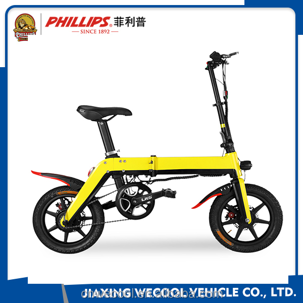 2017 36V used folding electric bicycle/bike for city rode lithium battery