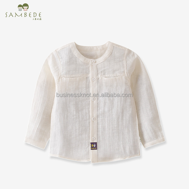 SAMBEDE 1-5T Baby Girls Top Clothes Plain Color Long Sleeve Shirt for Spring Autumn SM7C30006