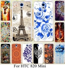 (Nor for 820) Case for HTC Desire 620 620G Desire 820 Mini D820mu Brilliant painting case skin shell custom phone cover