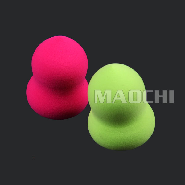 high quality washable refillable powder puff beauty sponge