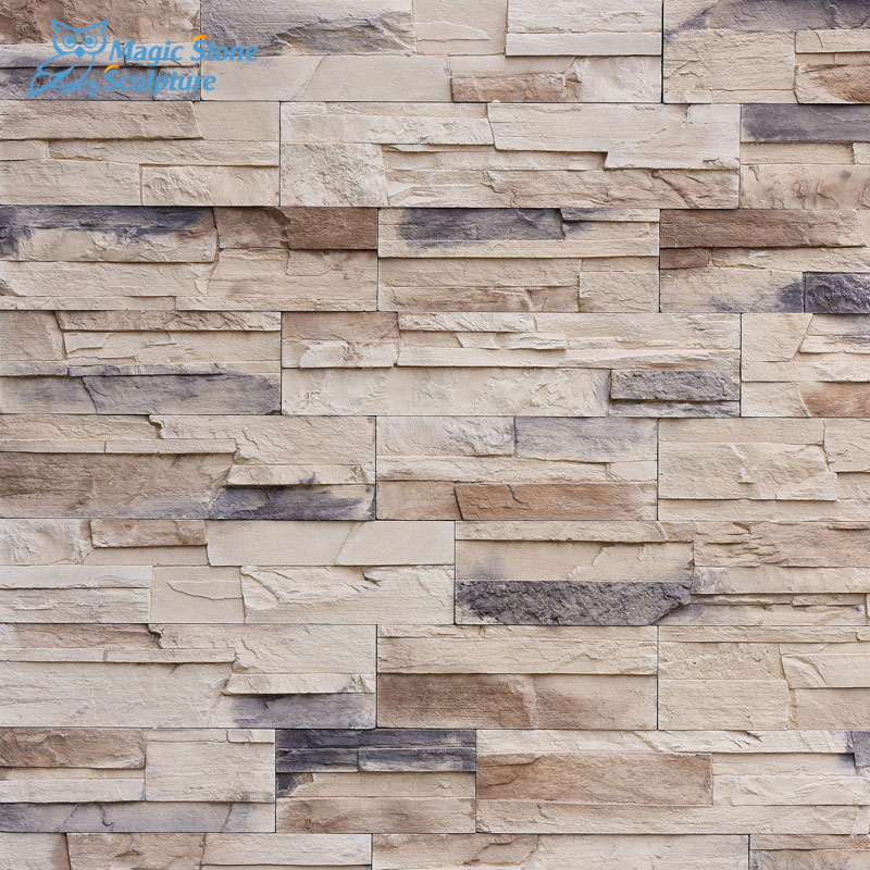 faux stone panels wall cladding for sale