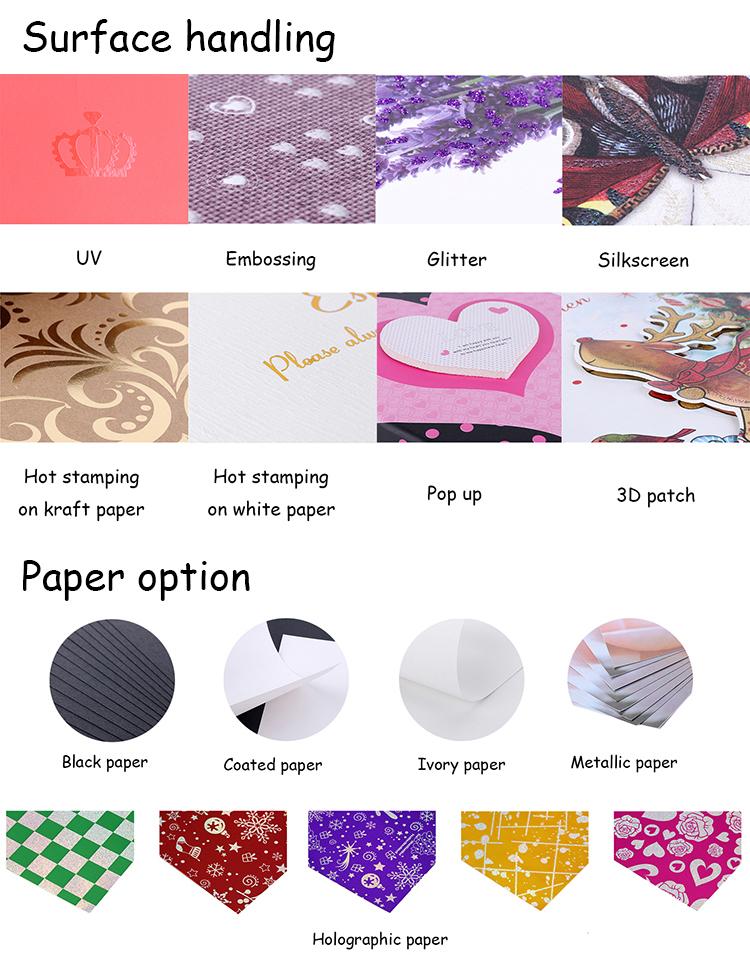 Factory Stocked Printing Flower Kraft Paper Wine Bottle Bag Hand Gift Paper Bag For Packing