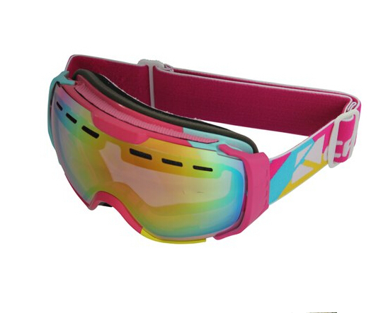 interchangeable/replaceable strap ski goggles