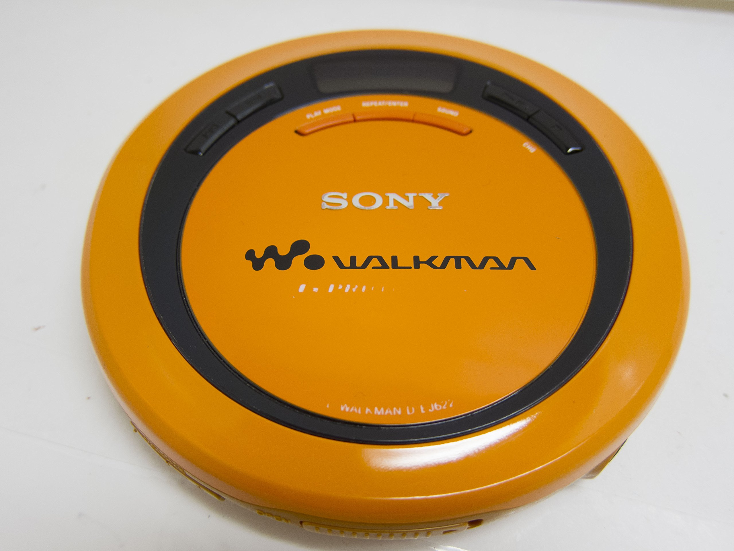 Sony Corp. Portable CD Player CD Walkman D-EJ622 Model# Sony CD Walkman D-EJ622 (Orange Color Version)
