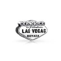 925 Sterling silver Las Vegas charm beads fit european bracelet