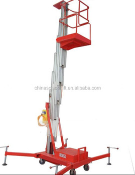 Portable light weight man lifts single man lift manual man lift for sale,  View single man lift, WL Product Details from Jinan Willing International