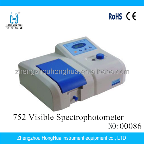 Hot Selling 752 UV Portable Cheap Spectrophotometer for Lab