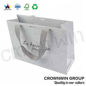 High Quality Printed Malaysia Paper Bag Design Template Packing Paper Bag