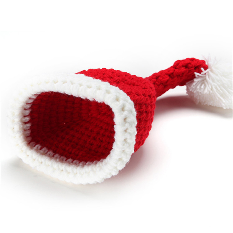 d099fd674 Latest Crochet Santa Clause Hat Diaper Set Newborn BABY New Year Costume  Knitted Santa Clothing for Photo Shoot MZS-14032-2