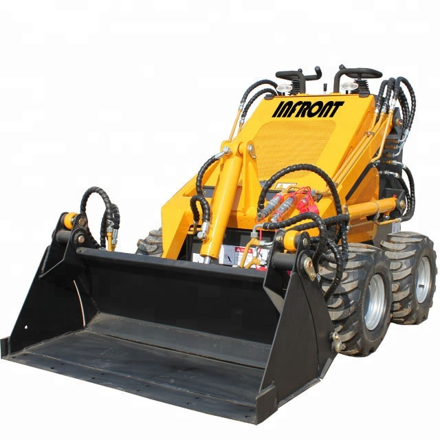 380 Piccolo Mini Skid Steer Loader come avant bulldozer toro dingo kanga