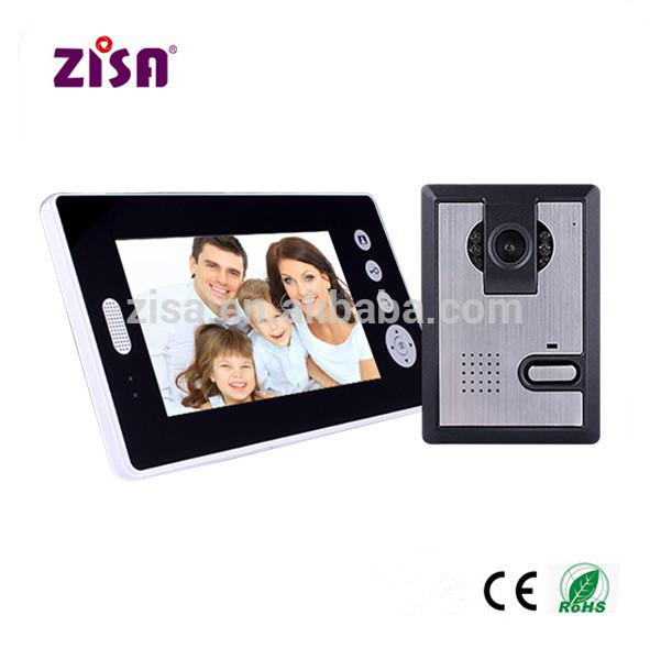 Wireless Video Door Entry System For Apartment Wireless Video Door