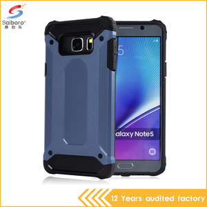 Phone case factory fancy price ultimate rugged armor phone case for Samsung Note5 N9200