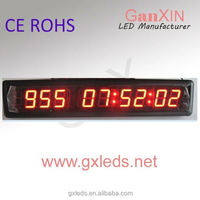 1.8 inch day countdown timer with shot clock