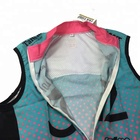 Vest Wholesale Quick Dry Polyester Lightweight Customized Sublimation Print Bicycle Vest