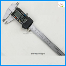 SCD-06-01 Precision Hot 150mm Vernier Calipers Electronic Digital LCD Plastic Caliper Micrometer Minimum Scale