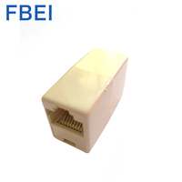 8P8C RJ45 Network Extension Lan cable connector RJ45 coupler