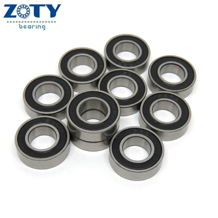 "10 Pcs Metal Shielded Ball Bearing Bearings R155 5//32/"" x 5//16/"" x 1//8/"" R155zz"