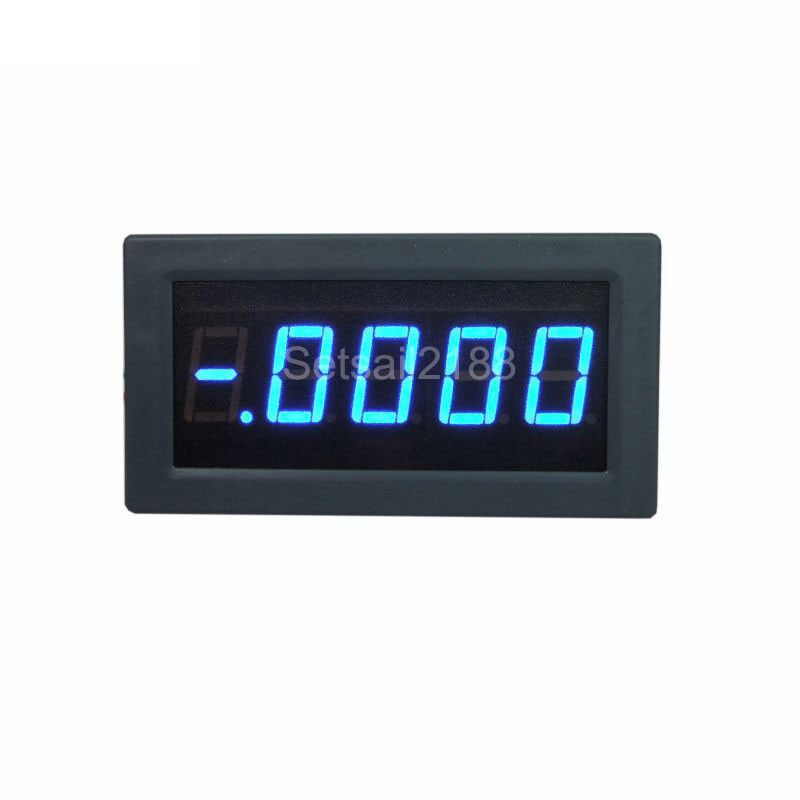 //-20A Forward Reverse Current Ammeter Red Battery Monitor DC 4-½ High Precision
