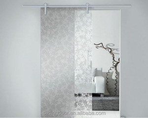 Hangzhou Best Design Glass Barn Door