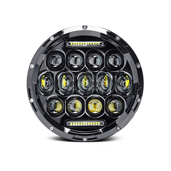 75w Cree leds truck SUV Flood beam working Driving light led 4x4 spot lights