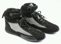 Go kart Karting boots go karting shoes indoor racing boots Light Weight ShoesGo Kart Boots Racing Shoes Black/free balaclava